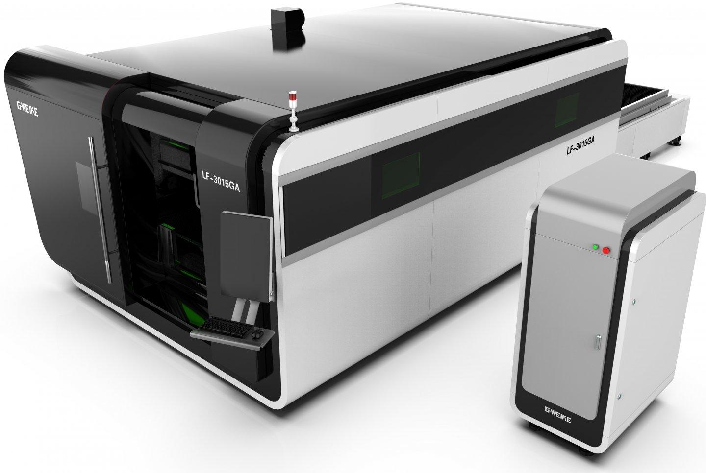 CNC laser 3015GA zkouska