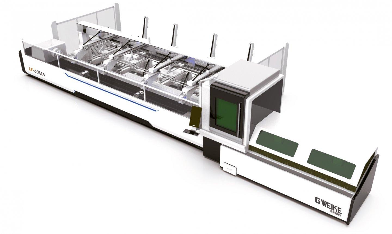 CNC laser automatický podavač