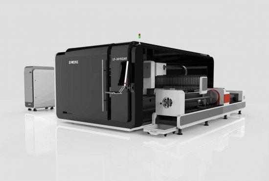 CNC laser GA s rotační osou