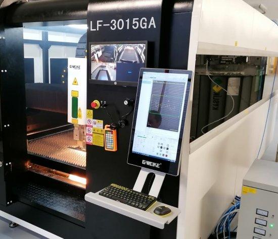 CNC laser GWEIKE 3015GA