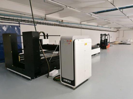 Instalace CNC laseru GWEIKE 3015GA