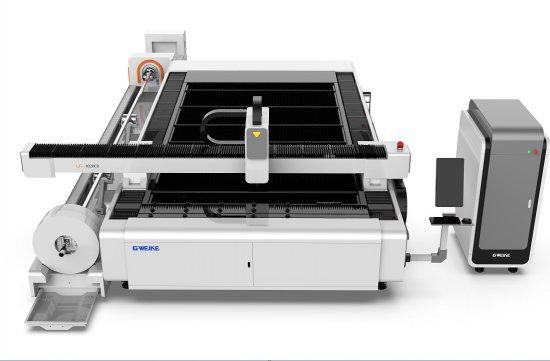 Odkrytá verzia laserového páliaceho stroja