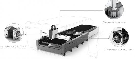 Komponenty CNC               laseru